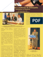 Press Release_II Jornadas de Osteopatia