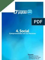PONENCIA SOCIAL PARTIDO POPULAR SEVILLA 2012 17 CONGRESO