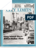 City Limits Magazine, March 1985 Issue