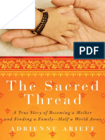 The Sacred Thread by Adrienne Arieff - Excerpt