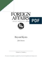 Browne Beyond Kyoto