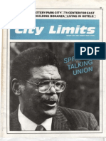 City Limits Magazine, November 1986 Issue