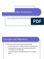 Obj. 18 Circular Functions (Presentation)