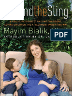 Read an excerpt from Mayim Bialik's Beyond the Sling!