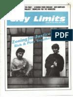 City Limits Magazine, February 1987 Issue
