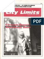 City Limits Magazine, October 1987 Issue