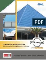 Teja Trapezoidal Galvanizada y a COLMENA