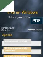 IPv6 en Windows