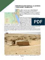 Historia de La Homosexual Id Ad Egipcia. Nianjjnum y Jnumhotep