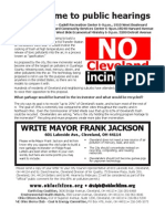 Public Hearings Flyer for CPP MSW WTE Project, 01.27