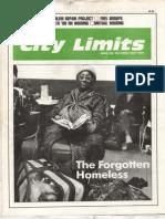 City Limits Magazine, January 1988 Issue