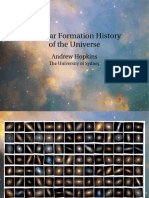 Andrew Hopkins- The Star Formation History of the Universe