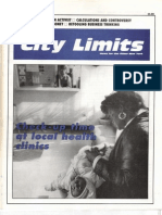 City Limits Magazine, March 1989 Issue