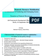 Taxation Natural Resources