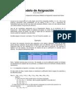 Modelo de Asignación Inv.Op