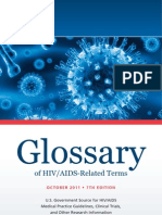 Glossary Hiv Related Terms English