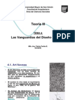TEMA 4 Vanguardias del Diseño Moderno