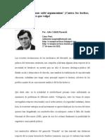 La primacía del Estado de derecho peruano