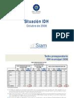 Bolivia Analisis del comportamiento del IDH en base al precio del petroleo