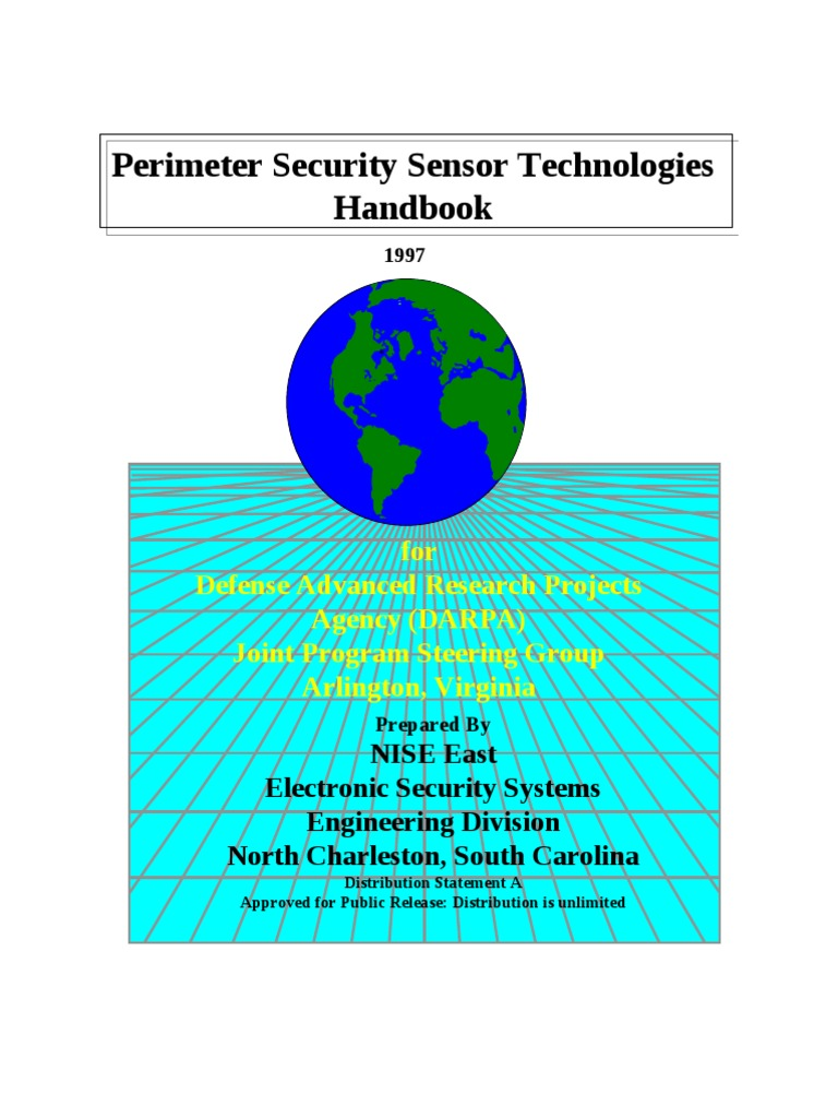 Perimeter Security Sensor Technologies Handbook Darpa Threewire System Wall Mount Automatic Ir Motion Light Switch Alarm