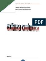 Modulo Clinica Cirurgica e Centro Cirurgico
