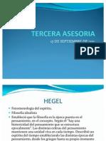 TERCERA ASESORIA