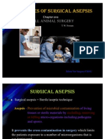 Principles of Surgical Asepsis
