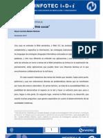 Infotec. Accesibilidad y Web Social