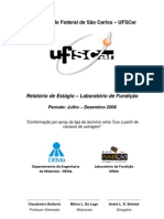 Relatório de Estágio DEMa - Conformação por spray da liga de alumínio série 7xxx a partir de cavacos de usinagem
