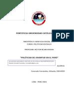 Sobre la Política de Juventud_Coronado Fernández_jul_04_2004