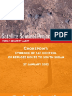 SSP 25 Choke Point 27jan2011 Evidence of Saf Control of Refugee Route to s Sudan