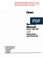 Onan UR Generator Manual Pub 900 0150