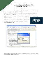 Manual de Configuracion Router 3G Kozumi K15003G
