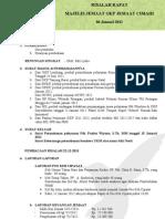 Notulen Rapat MJ 06 Januari 2012
