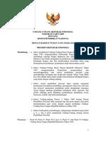 UU No. 20 Tahun 2003-Sistem Pendidikan Nasional