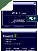 Open Source Software Licenses- Dr. Kalyan C. Kankanala