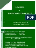 Radiación  UVA