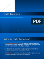 EMF (Electromagnetic) Pollution and Remediation