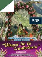 Programa Fiesta de la Virgen de la Candelaria