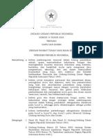 UU No. 14 Tahun 2005 Tentang Guru Dan Dosen