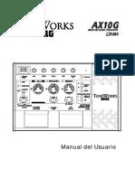 Manual Korg Ax10g