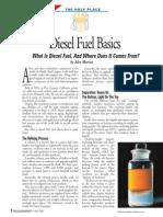 Diesel Fuel Basics