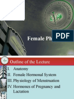 Final Female Physiology Handout for Med Studes Part i
