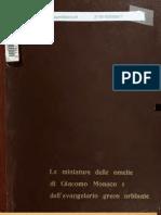 Stornajolo Miniature Delle Omilie de Giacomo Monaco Cod. Vatic. Gr. 1162