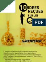 Dix idées reçues sur les OGM
