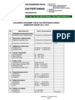 Kalender Akademik Genap 2011 2012