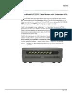 DPC 2203C EMTA
