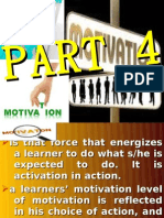 Facilitaitng Learning -Motivation