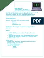 Finance Manager Job Advert