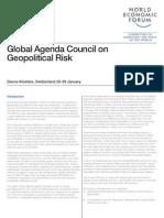 WEF GAC Geopolitical Risk Report 2012